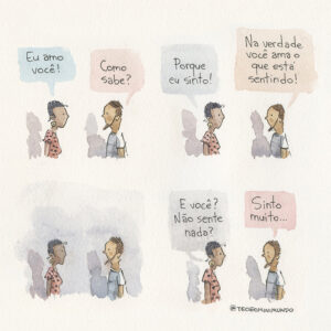 Alguns quadrinhos sobre sentimentos que prometem tocar o seu coração