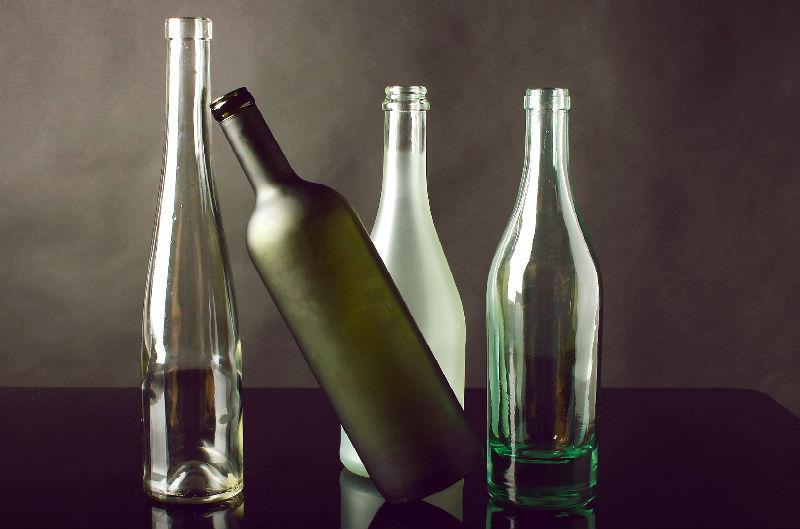 garrafas vazias