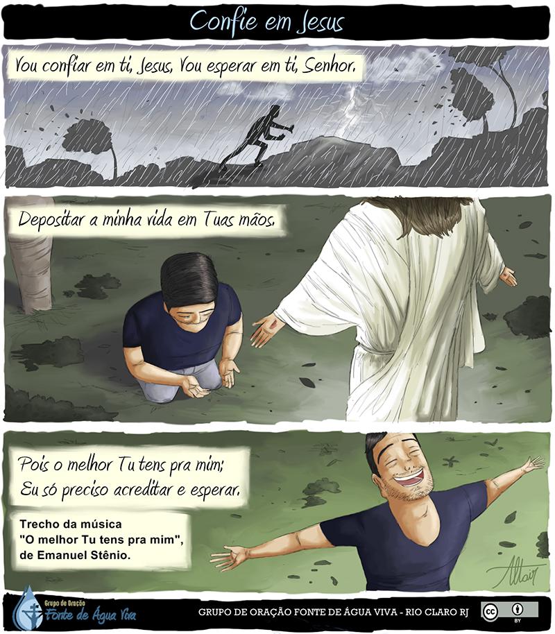 Confie em Jesus.