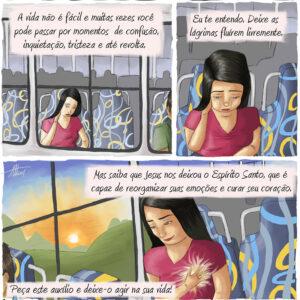 Conte com o auxílio do Espírito Santo em todas as suas dificuldades