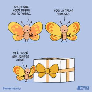 Uma borboleta bêbada e outros quadrinhos para te emocionar