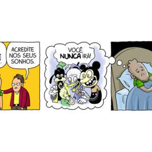 Alguns sonhos perturbadores e outros quadrinhos inesperados
