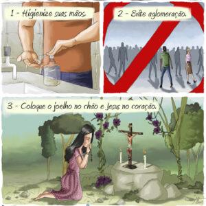 3 passos para a sua proteção diante do Coronavírus e outras dificuldades