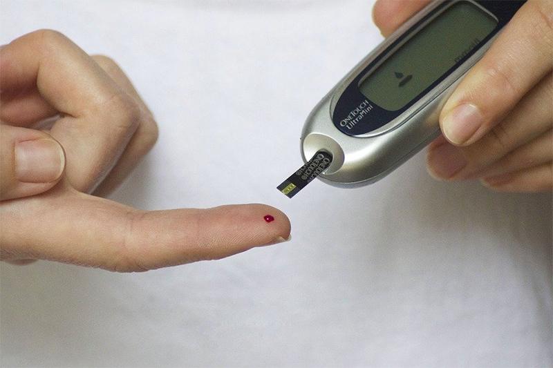 Alteração nos níveis de glicose no sangue
