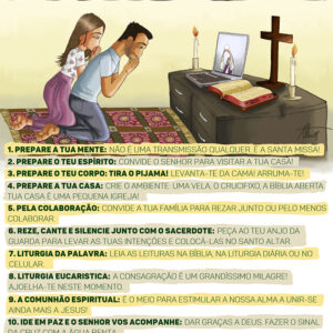 10 dicas e outras orientações para uma boa participação nas Missas pela TV e redes sociais