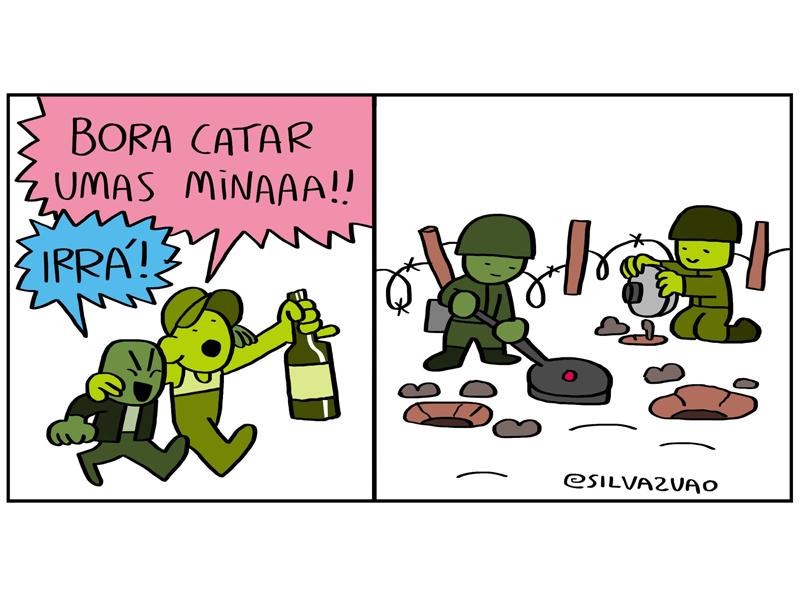 Catando umas minas
