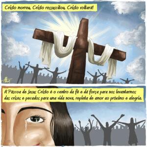 Jesus venceu a morte para nos dar a vida