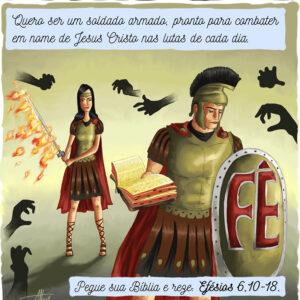 Existe um grande combate e o Cristão precisa lutar com as armas certas