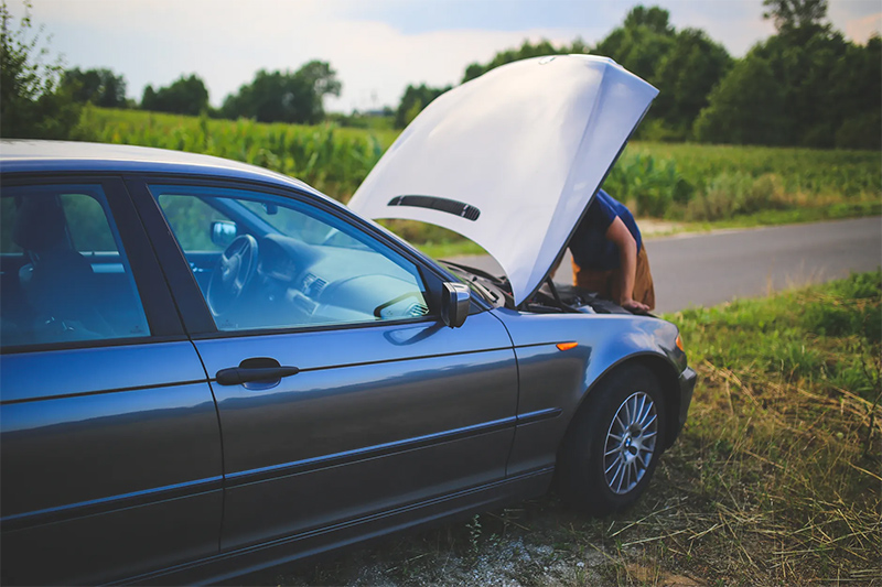 Carro com problemas