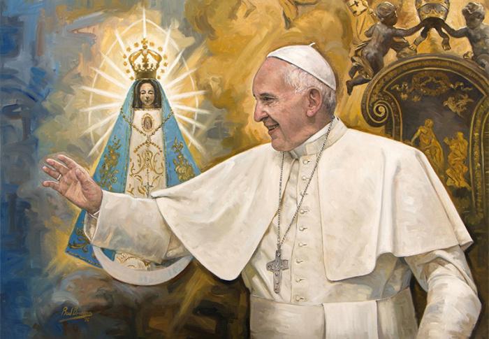 Conheça a impressionante arte Católica de Raúl Berzosa