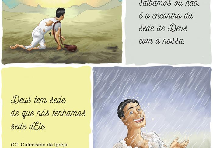 Precisamos ter sede de Deus e buscar o Senhor com urgência