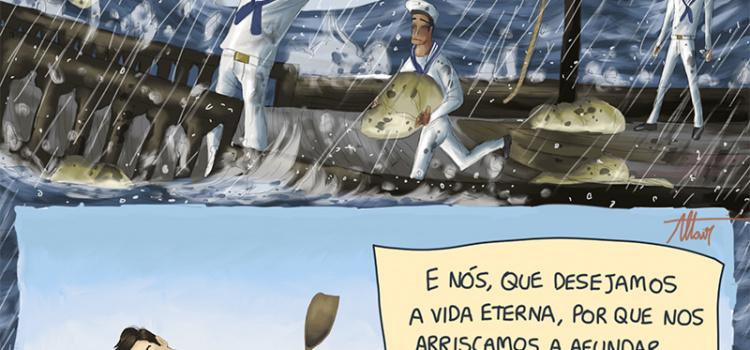 O barco da sua vida pode afundar se você não tomar cuidado