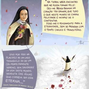 O desprendimento da vida passageira e os tesouros do Céu com Santa Teresinha do Menino Jesus