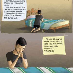 Não deixe que as dores e distrações te afastem de Deus