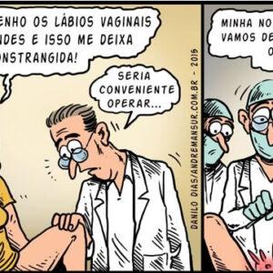 A cirurgia sem noção e o médico maluco